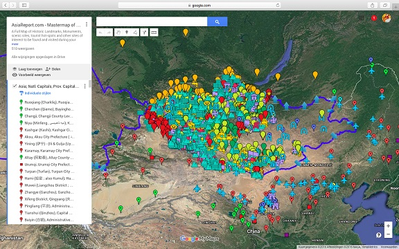 Click to go to Full Map of Mongolia & all Mongolian Territories