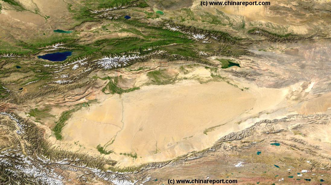 Satellite_Image-Map_Tarim_River_Basin-Ta