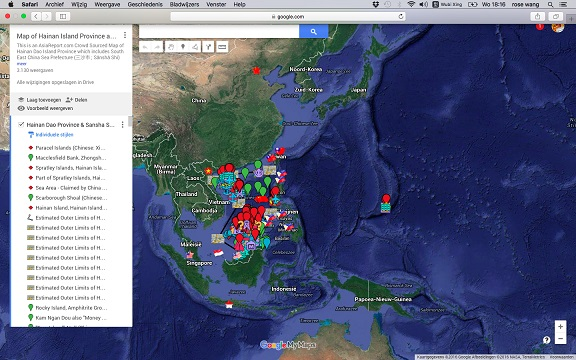 Navigate and Discover the South China Sea !