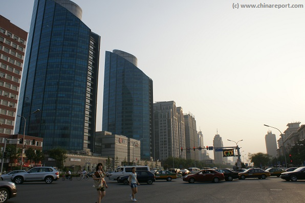 Get an Impression of the Main Boulevard in South Chaoyang ...