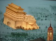 The Future of QianMen detailed at the Beijing Planning Exhibition !