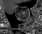 Beihai Park from Space, an edited Image-Map