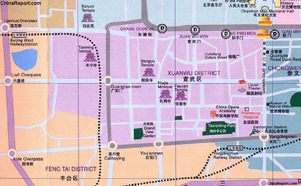 Click Map to Enlarge - Full Xuanwu District Map