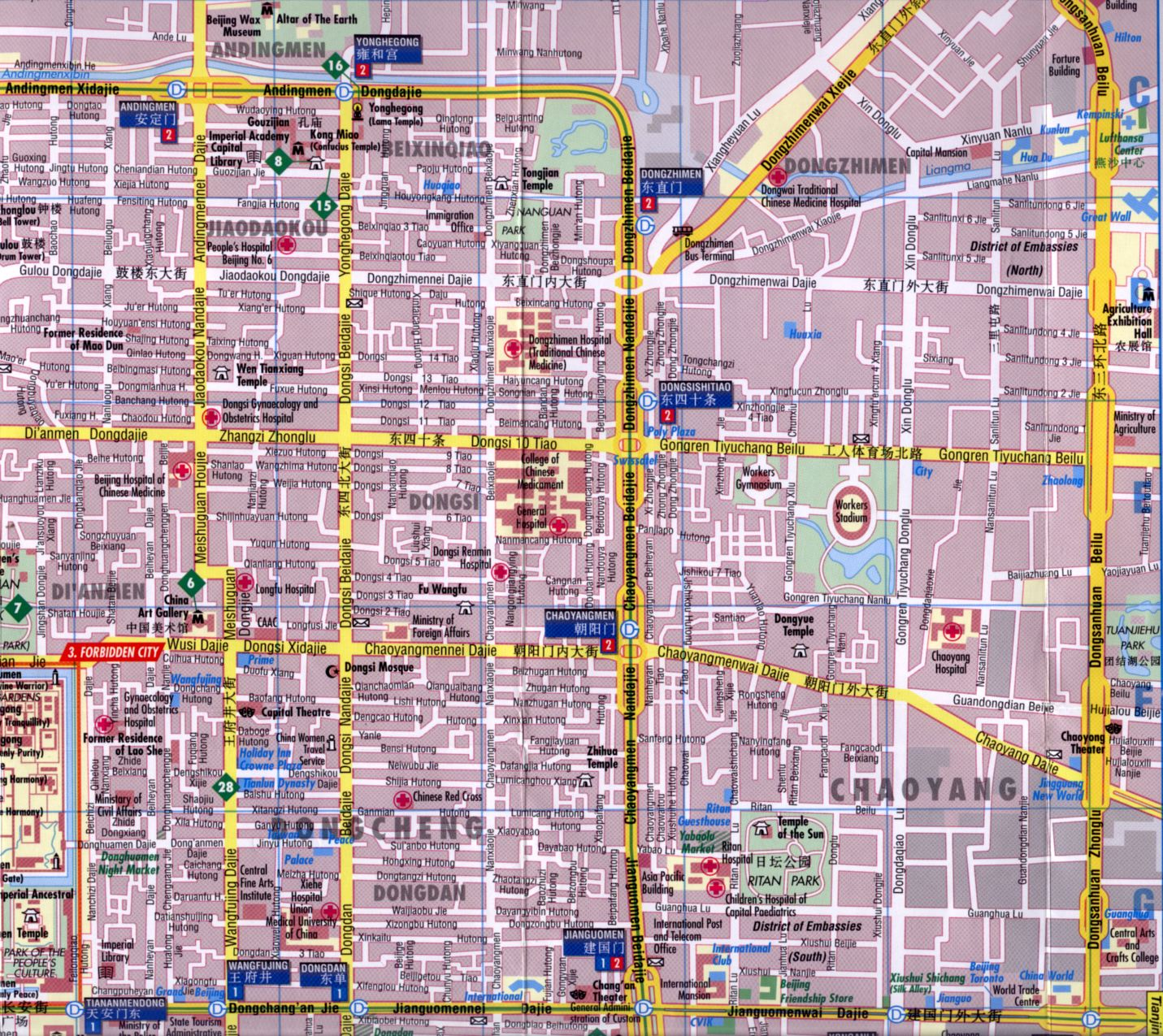 Shaoyang China  City pictures : Beijing Chaoyang District Maps Index, All Maps Menu