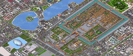 Click Image to go to Full 3D Digital Map of Beijing !!