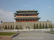 Exterior of the Gate, Interior and View on TiananMen Square