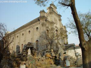 Tour the South Cathedral - oldest Church in Beijing.