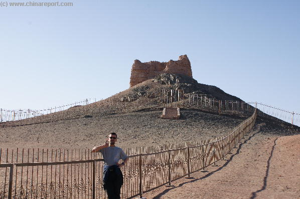 The Sun Gate Fortress & Beacon - Beginning o/t Silk Road South Path !