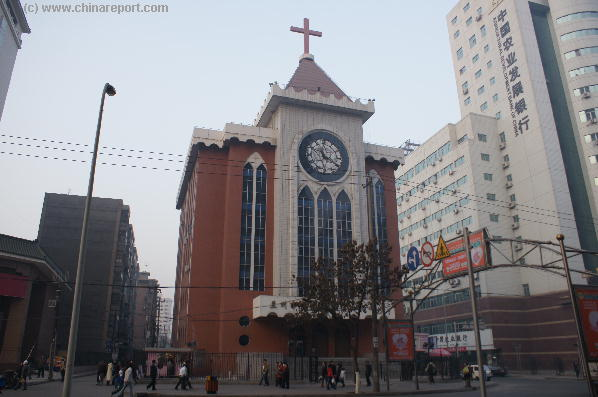 Visit the Main Church of Lanzhou