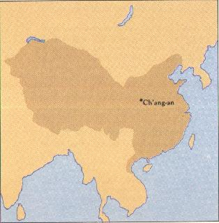 Summary of the reign of the tang dynasty 618 907 ad history the chinese empire of the tang dynasty around the year 700 ad sciox Choice Image