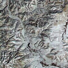 Click Map to View Satellite Image of Mutianyu Great Wall of China Site