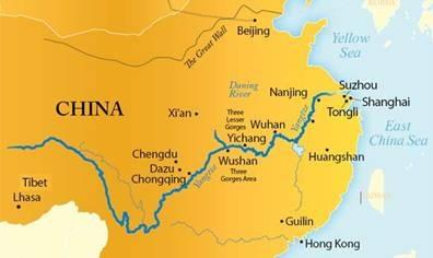 Xi river map xi jiang river Xi River