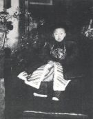 Child-Emperor Pu Yi on his Throne