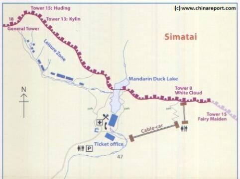 Beijing , Great Wall of China at Sematai- Extensive ...