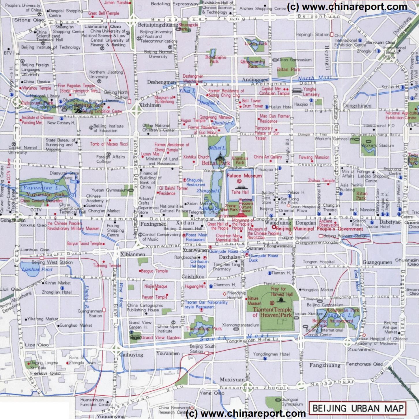 ChinaReport~Beijing~MapsofBeijing~General Maps~Map Central Beijing02