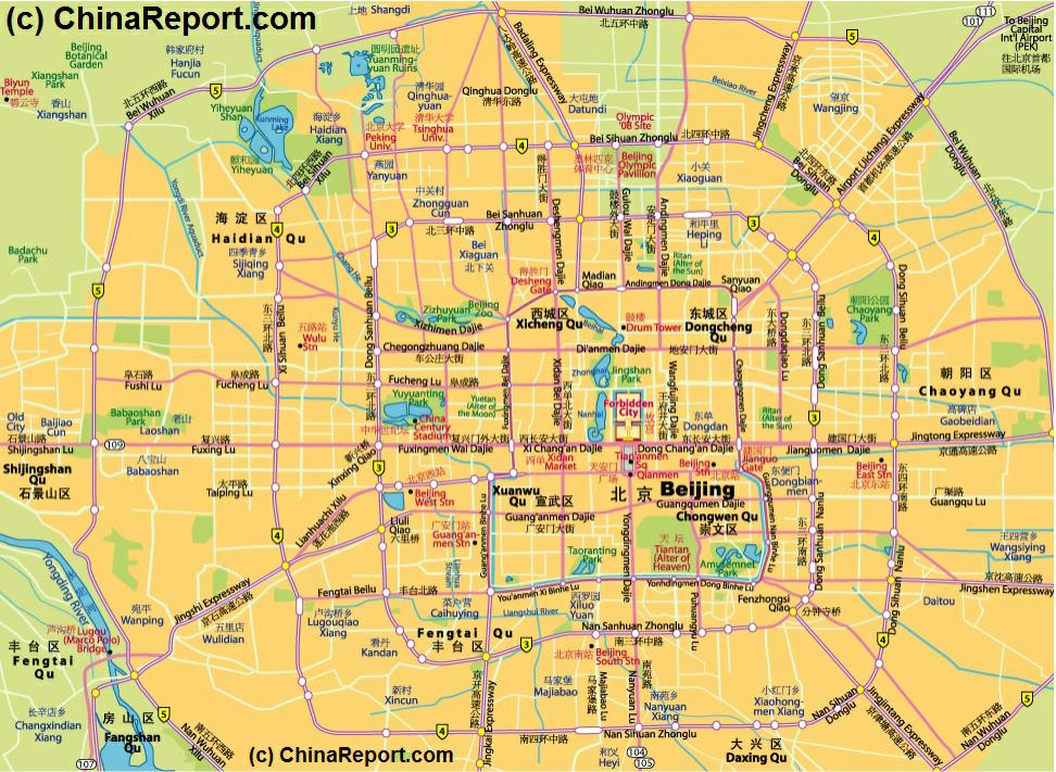 beijing central city districts overview map 03