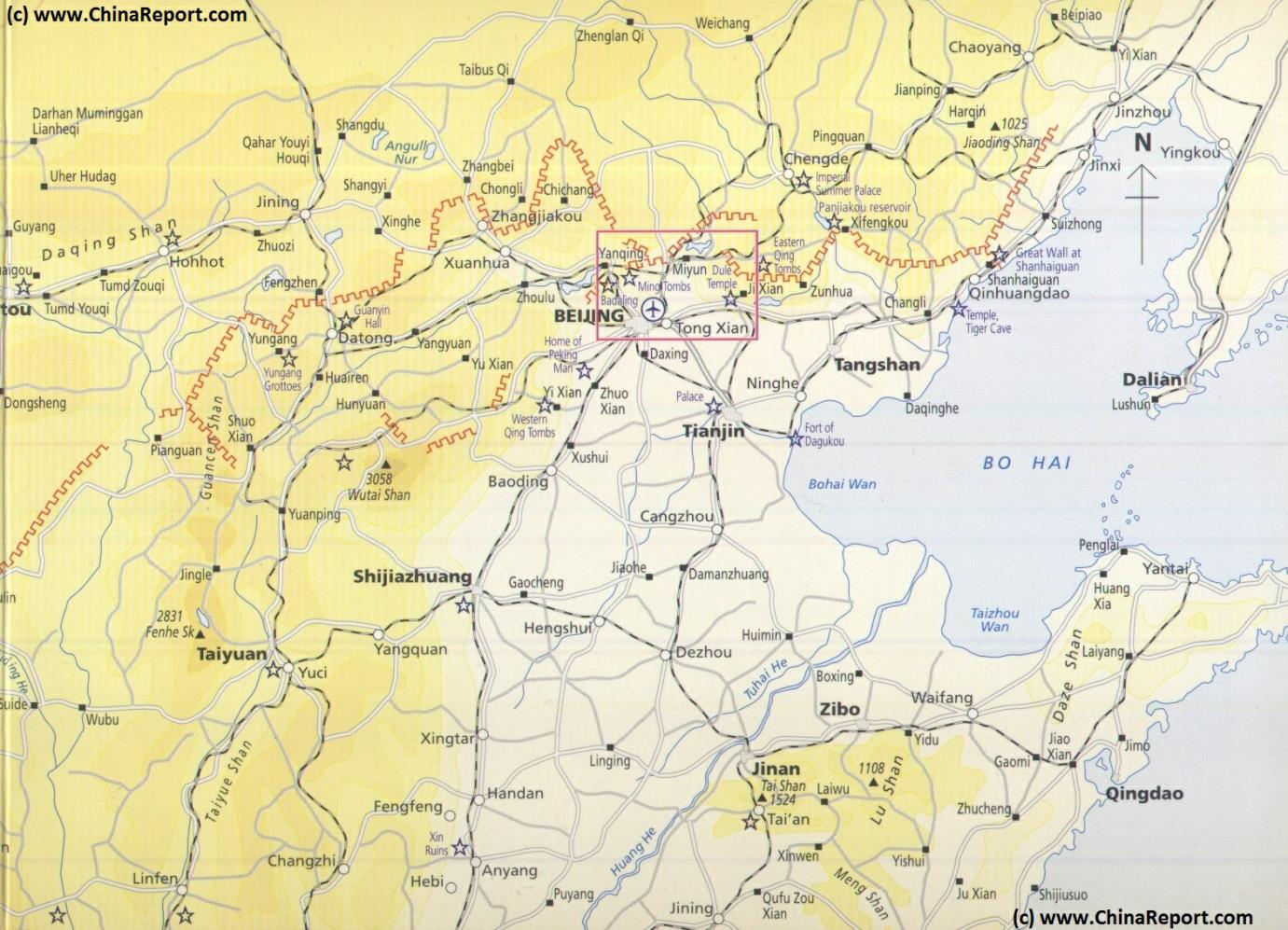 Map schematic hebei beijing tianjin great wall of china locations gumiabroncs Image collections