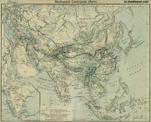 View the Land & Maritime Silk Road (of the Yuan Dynasty Era)