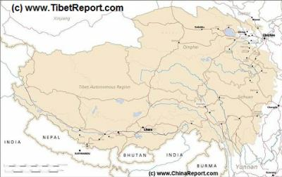 Path Ot Yellow River Huang He Upper Reaches By China Report - Huang river world map